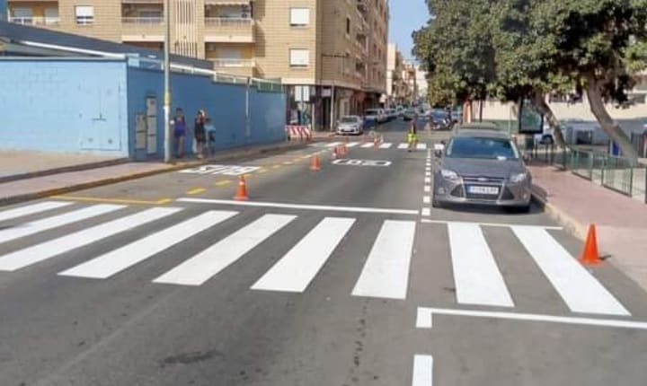 Local Police check on school pedestrian crossings