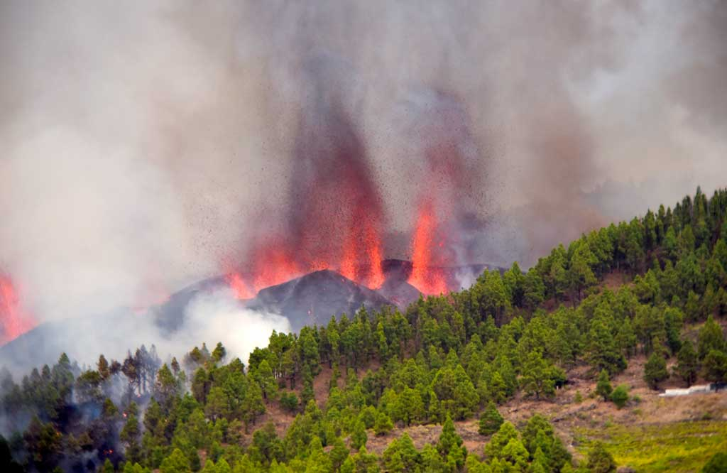 Volcanic ash from La Palma to coat the province of Alicante