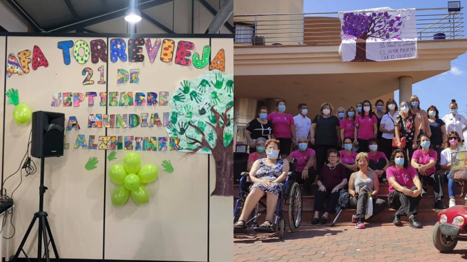 Torrevieja and Los Montesinos commemorate World Alzheimer's Day