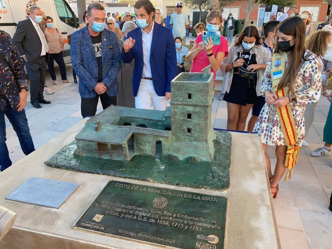 Model of the La Mata farmhouse and it's tower unveiled
