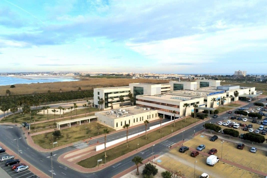 The bittersweet goodbye of Ribera to Torrevieja Hospital